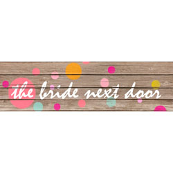 The Bride Next Door - wedding planer